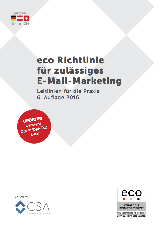 eco Richtlinie E-Mail-Marketing 2017